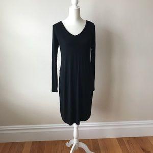 Gap Basic Black Maternity Dress